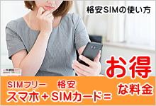 格安SIMの使い方