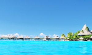 一度は行きたいボラボラ島