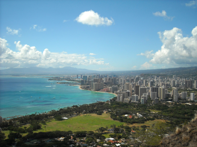 ハワイのダイアモンドヘッド