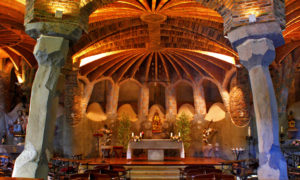 ガウディを肌で感じることができる!コロニアグエル教会