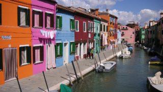 ブラーノ島 イタリア
