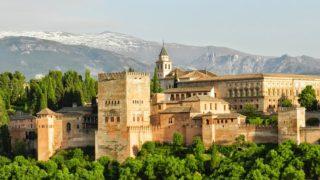 スペイン・グラナダ アルハンブラ宮殿