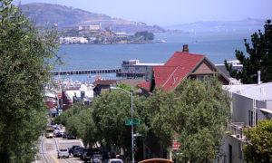 歩いて観光できるサンフランシスコ