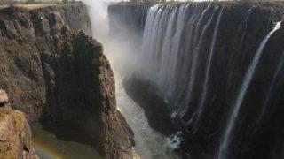 ジンバブエのヴィクトリア滝