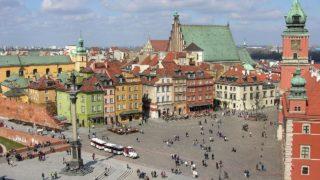 ワルシャワ歴史地区 ポーランド