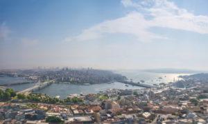 トルコ・イスタンブールの歴史地区