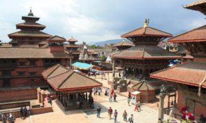 ネパールの大都会 カトマンズへ #durbarsquare