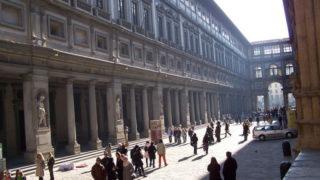 ウフィツィ美術館 イタリア、フィレンツェ