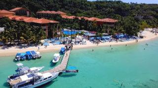 カリブの美しい海を満喫!ロアタン島