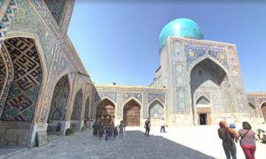 青の都 ウズベキスタン