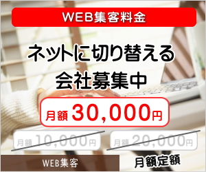 WEB集客料金